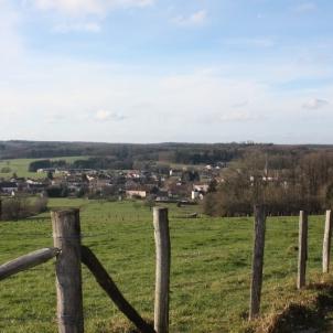 Le petit village de Charmois
